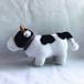 毛绒玩偶可爱小牛亲子互动陪伴孩子们成长