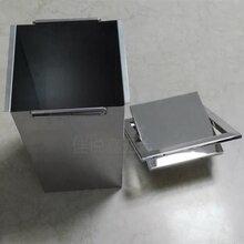 方形台面嵌入式暗装垃圾桶,厨房清洁五金用品