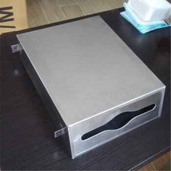 工程镜后暗装平口擦手纸箱,大型商场镜子后面隐藏式抽纸盒