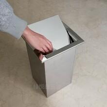嵌入式不銹鋼臺面清潔桶