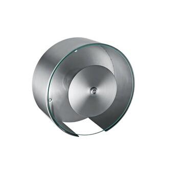玻璃面板不锈钢大卷纸箱透明正面钥匙上锁佳悦鑫五金厂生产
