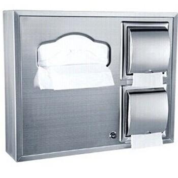 带背板组合式马桶坐厕纸巾箱上厕所装马桶上铺纸用的盒佳悦鑫卫浴五金提供生产