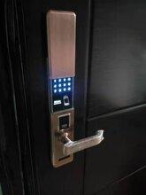 佳悦鑫指纹密码智能锁不锈钢家用防盗门电子锁厂家直销包安装图片