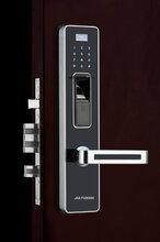 j9800-pvd型指纹锁不锈钢材质四种功能解锁,方便适用图片