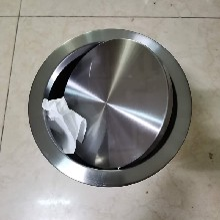 三合一不銹鋼垃圾桶裝飾蓋360度無死角旋轉金屬質感圖片
