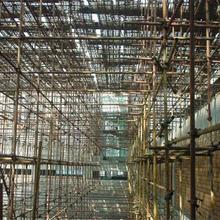 萬江區供應腳手架-排柵工程施工圖片