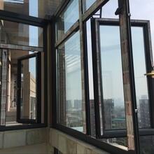 南京断桥铝门窗南京阅景龙华小区封闭阳台窗南京阳光房南京铝合金门窗