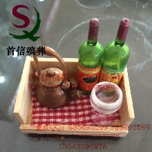 热销高档红酒酒具-祭祀专用随葬品摆件酒具茶具等首信殡葬