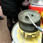 淄博哪個地方教學習石磨玉米餅技術配方做法圖片