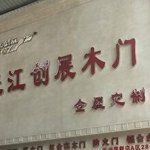 长江创展全屋定制木门免漆木门逃跑实木门图片
