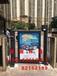 池州小区全自动刷卡广告门/池州高端广告门/池州小区物业人行通道广告门