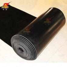 華泰絕緣橡膠板黑色膠板絕緣橡膠板3-12mm絕緣膠板配電室絕緣膠板圖片