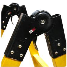 华泰绝缘人字梯玻璃钢绝缘梯安全梯电工梯绝缘关节梯合梯图片