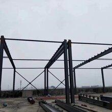 钢结构更换,铁皮棚防水工程图片