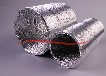 空調鋁箔保溫消音軟管鋁箔紙軟管玻纖軟管廠家迪多通風直銷