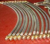 高压打气筒软管高压气管63MPA打气筒软管8mm快接