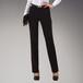 女士商务正装新款韩版修身黑色斜纹西裤淑女气质通勤简约职业裤