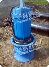 水面漂浮排水潜水泵/浮筒排水轴流泵图片