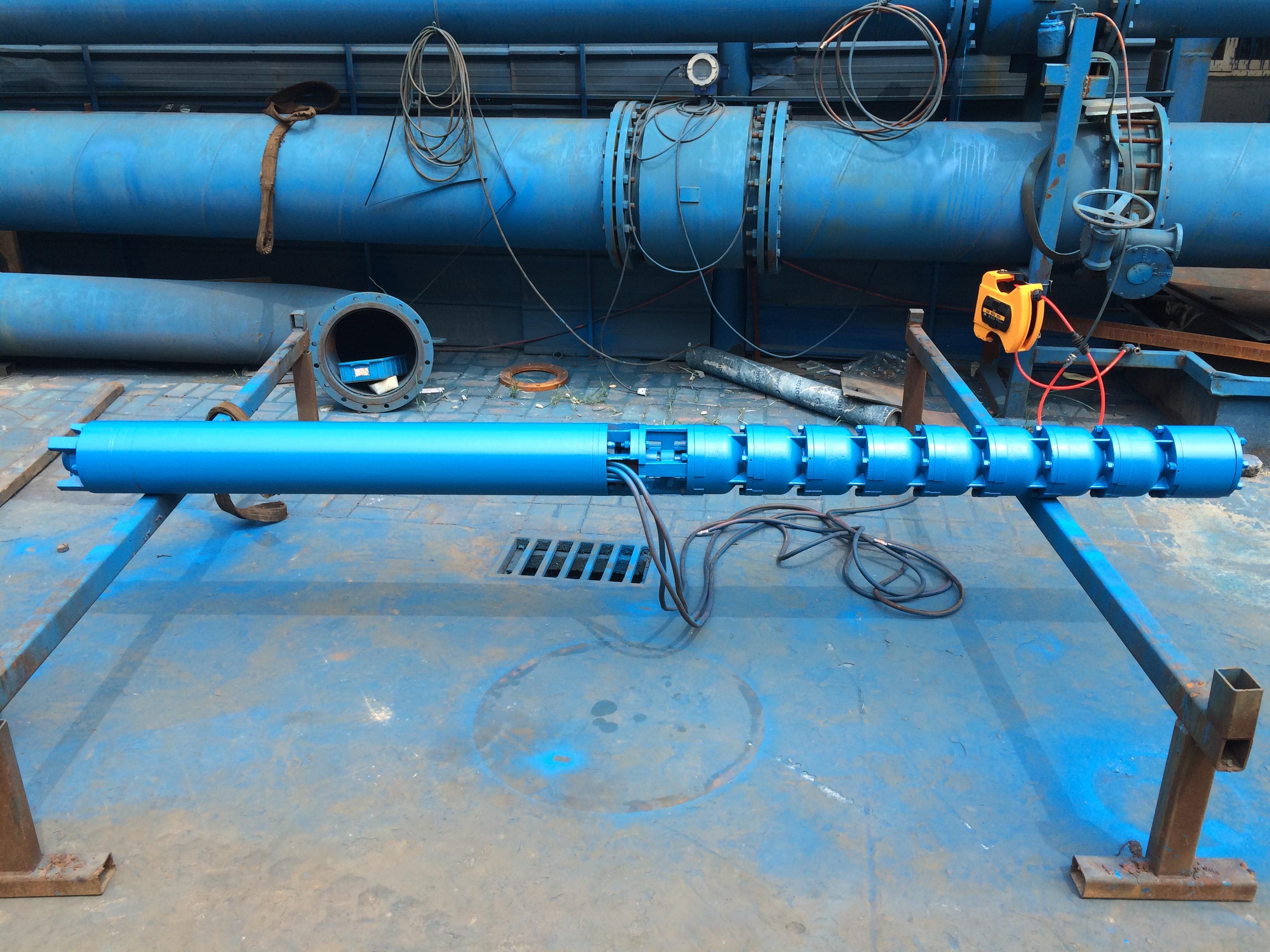 高温高扬程热水泵型号大流量热水深井泵价格