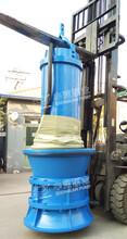 中蓝泵业现场技术指导潜水轴流泵安装图片