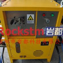 有什么设备能快速破裂石头的有硬石头怎么开挖低成本分石头-大笨象劈裂器图片
