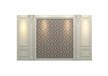 木门品牌排行护墙板AQB-05
