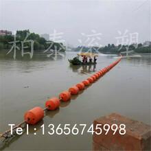 濠江海湾红色警示浮筒海岸浴场拦截挂网浮体浮球批发