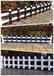 包立柱PVC塑钢护栏围栏栅栏草坪护栏庭院花园围栏一米长价格