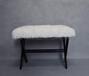 亚克力沙发凳换鞋凳亚克力叉叉板凳有机玻璃凳子亚克力条凳可定制