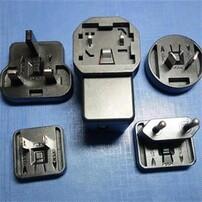 可换头USB充电器,定制高品质电源,5V可换头电源适配器,交流转直流电源适配器图片