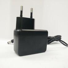 欧规插墙式6V1A电源适配器CE/GS欧洲通用电源图片