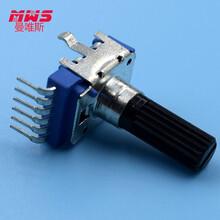 供应电位器单联电位器声卡电位器双联电位器汽车空调电位器电位器带开关图片