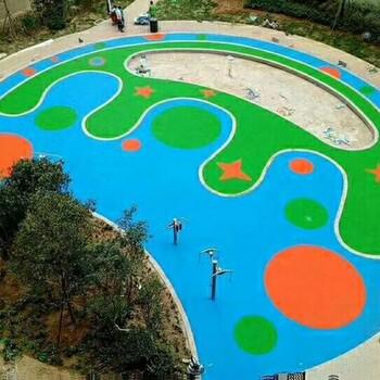 南京江北新区运动球场塑胶地坪公司的团队
