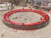 圆弧弹簧板烘干机大齿轮销轴式造粒机大齿轮