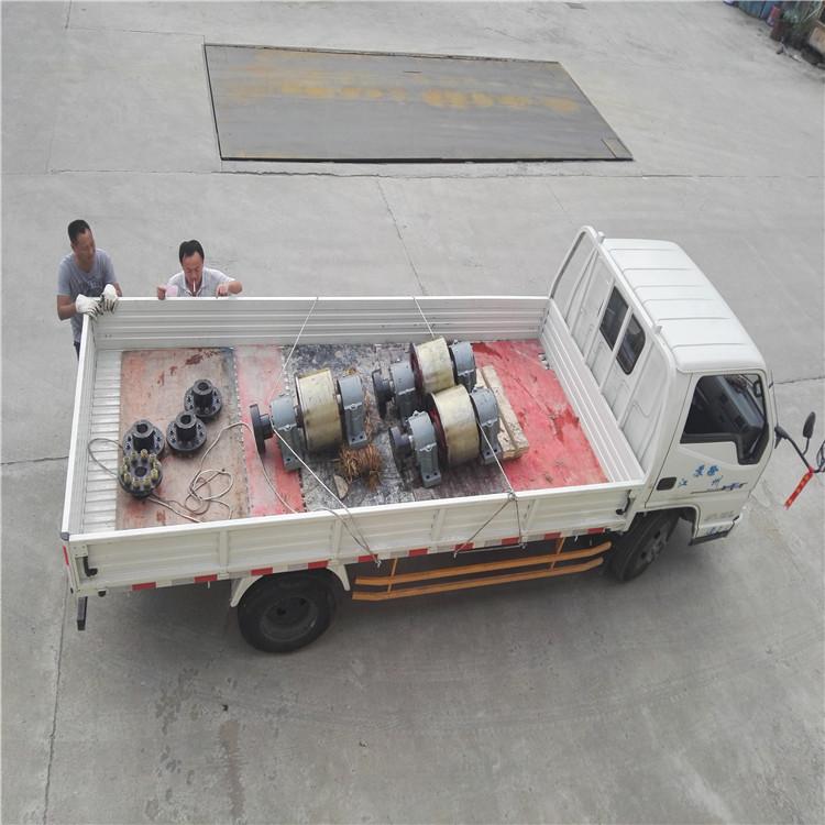 带挡边式直径580的三回程干燥机托轮