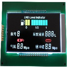 厂家直销温控器显示屏LCD液晶屏TN黑白显示屏段码开模定制图片