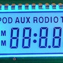 供应各类太阳能控制器LCD液晶屏TN12点视角显示屏黑白段码定制图片