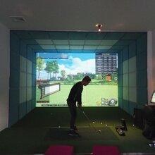 韩国正版高速摄像室内高尔夫18万元,每套