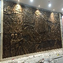 佛山定做玻璃钢仿铜校园浮雕墙校园文化墙浮雕雕塑