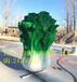 订制玻璃钢大型仿真植物雕塑,玻璃钢雕塑景观工程