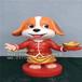 玻璃钢动物造型卡通狗雕塑