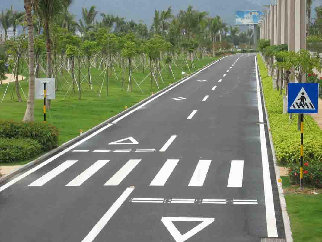停車場規劃設計,車位劃線,廠區道路標線