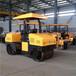 牡丹江3吨压路机驾驶式双钢轮压路机柴油振动式压路机