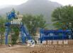 商丘混凝土搅拌站施工现场显神威,建新厂家整套设备