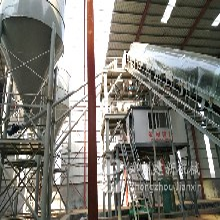 建新时产30吨干粉砂浆设备入驻云南昭通市