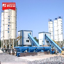 四川绵阳客户订购建新机械1.5方混凝土搅拌站