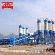 郑州建新机械2HZS90混凝土搅拌站落户内蒙古