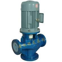 供应氟塑料管道泵、衬氟立式离心泵、厂家直销、产品质量有保证、耐腐蚀性能强、质保12个月图片