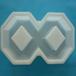8字砖塑料模具水泥塑料模具护坡塑料模具厂家直销
