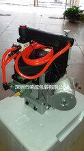 化工行业专用气动防爆封包机台湾N600A-AIR型号供应图片